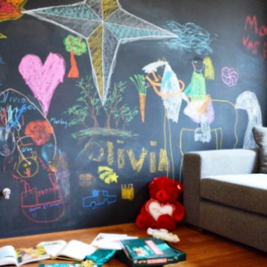Школьная доска, как элемент домашнего интерьера
