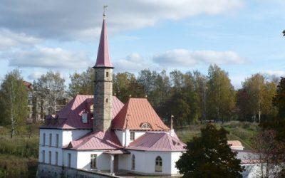 землебитный дворец на Гатчине