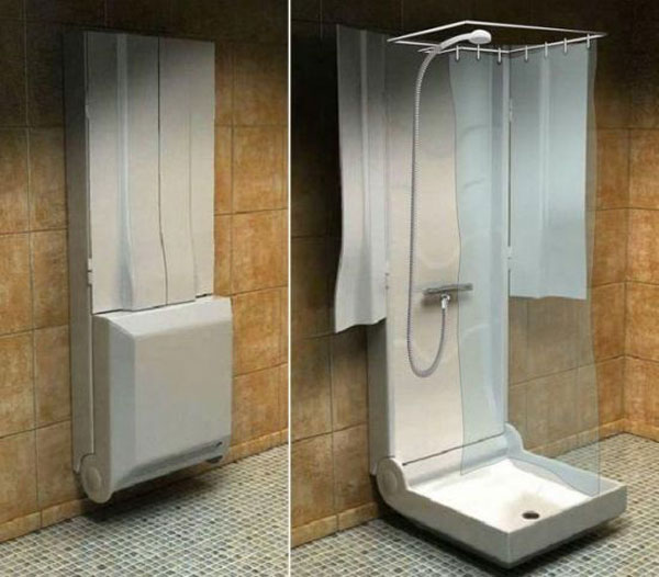 компактный душ