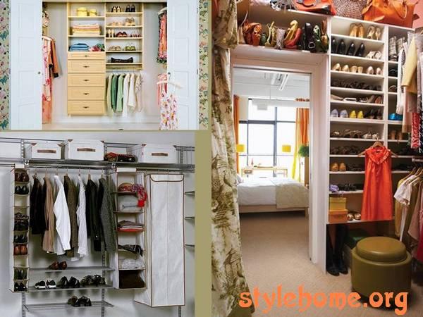 гардеробная для хранения вещей