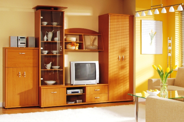 Стенки для гостиной и в комнату от интернет-магазина мебели в Москве mebelgold.ru