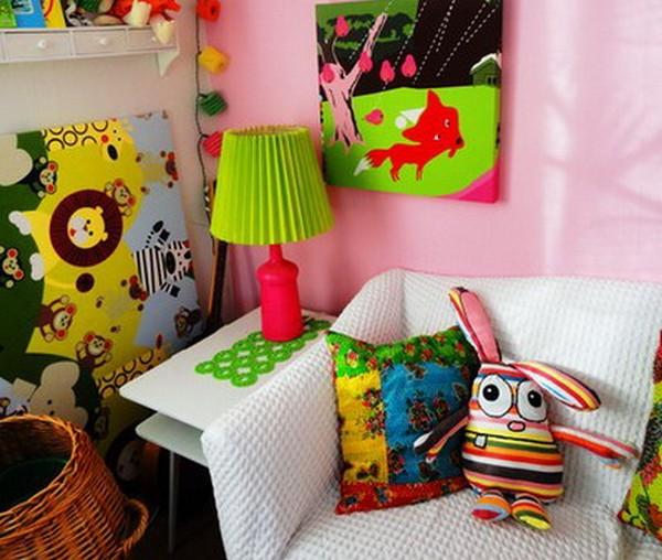 детская комната, интерьер