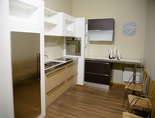 дизайн кухонного пространства