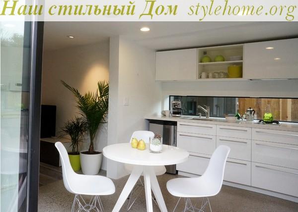 кухонная мебель из пластика