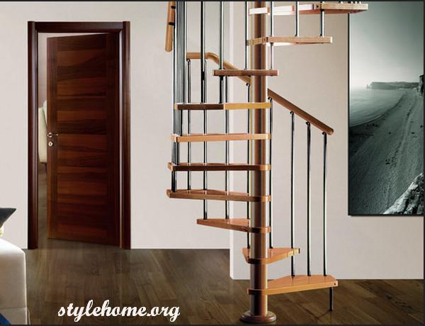 Винтовая лестница, достоинства и недостатки