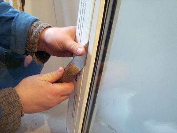 Как вынуть стеклопакет из рамы из окна ПВХ