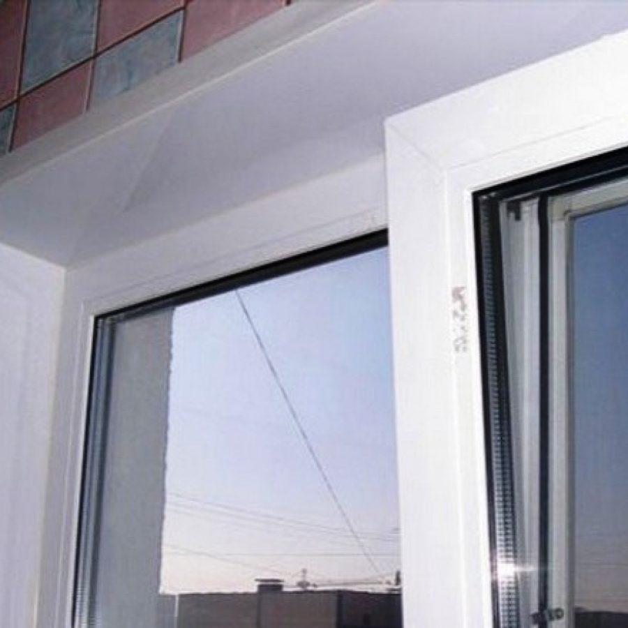 аластиковые откосы для окна