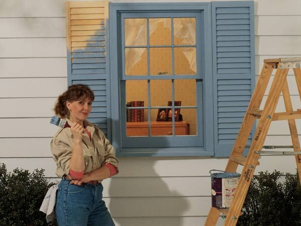 покрасить окно