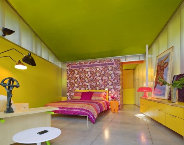 цветная спальня