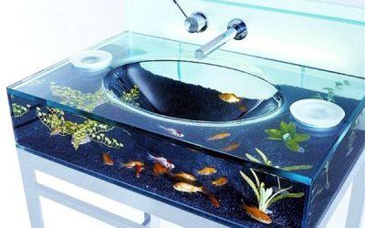 аквариум-умывальник