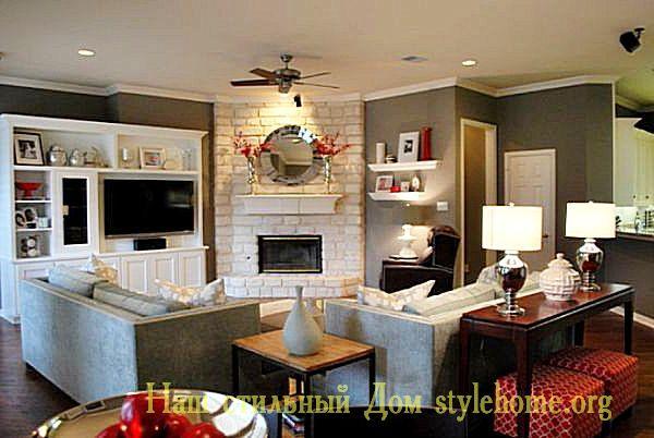 как поставить мягкую мебель в гостиной