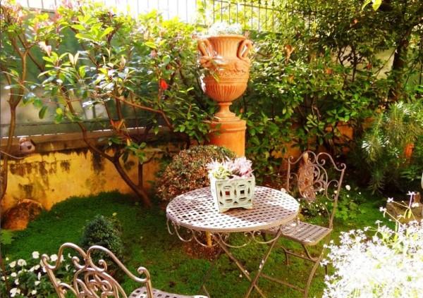 дом, сад, цветы