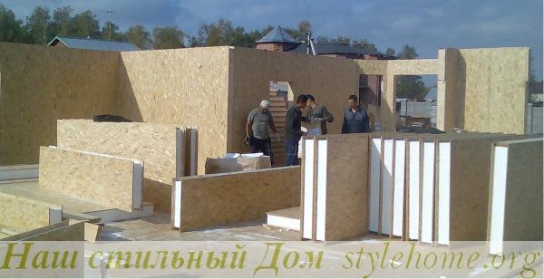 применение сэндвич панелей в строительстве