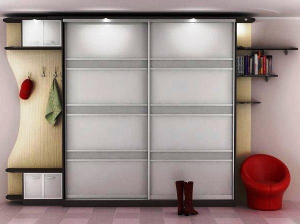 шкаф-купе в интерьере