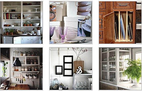 как организовать системы хранения на кухне