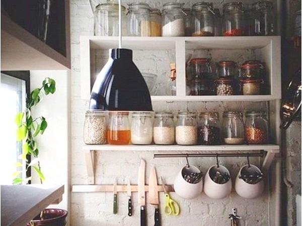 системы хранения кухонных мелочей