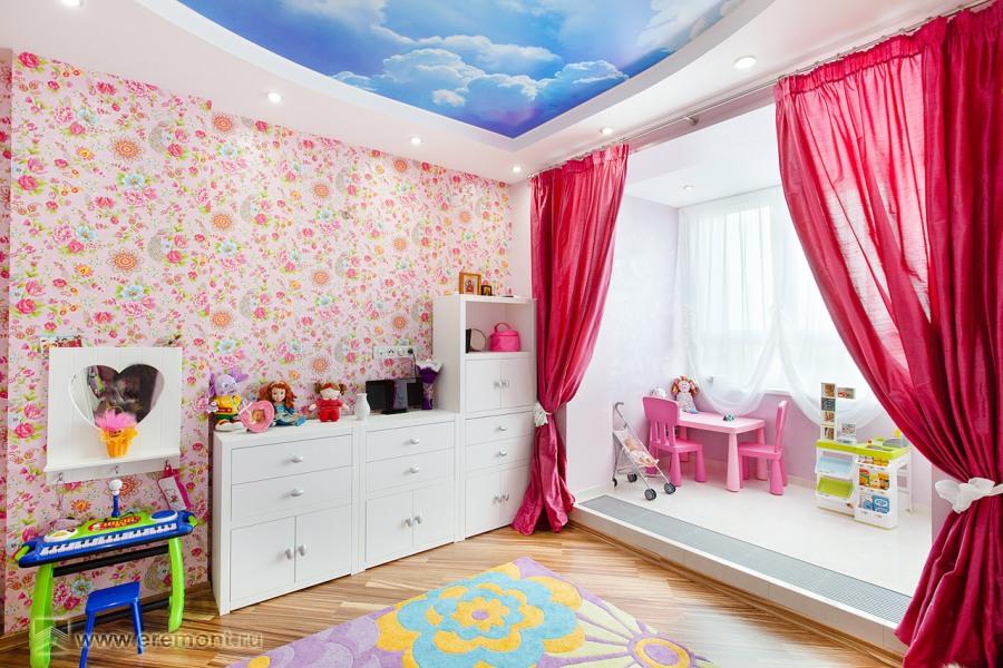 Сказочный дизайн детской