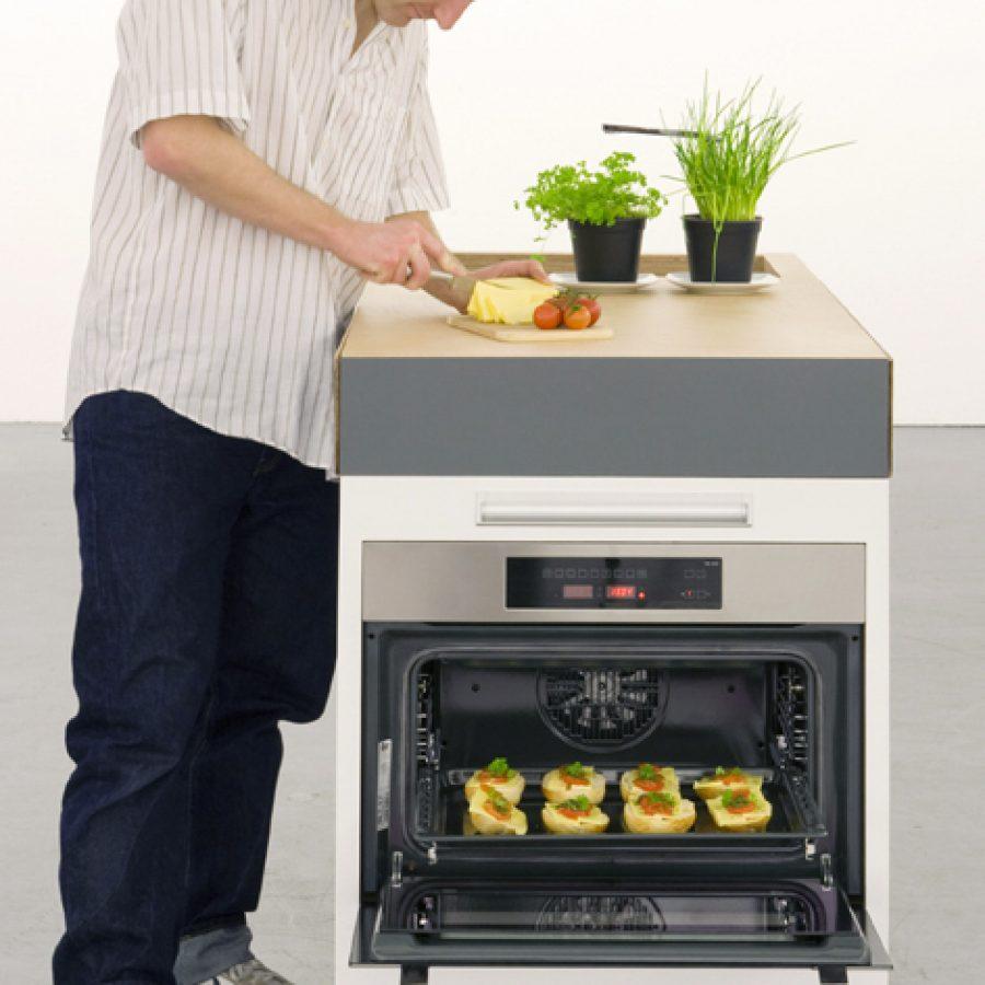 мини-кухня в действии
