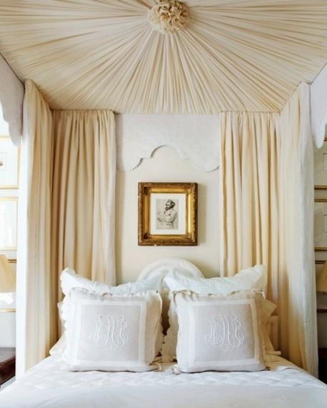 романтический стиль, спальня