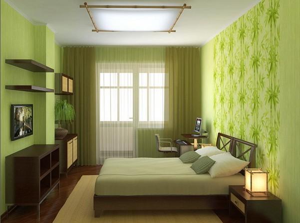 эко стиль, спальня