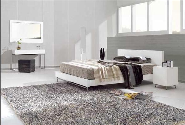 минимализм, спальня