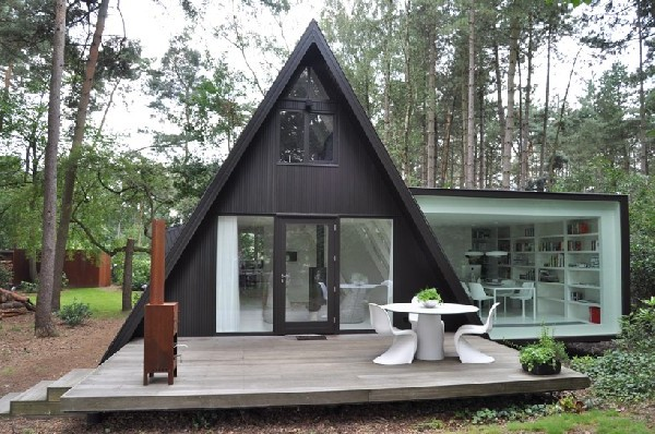лесной домик в германии