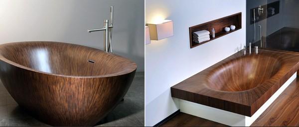 Laguna ванна из дерева