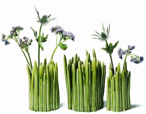 ваза для цветов Grass керамика