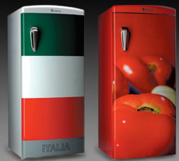 винтажные цветные холодильники