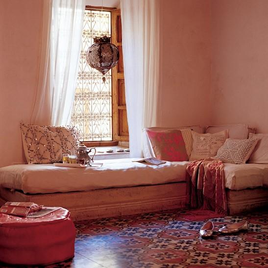 декор интерьера в восточном стиле
