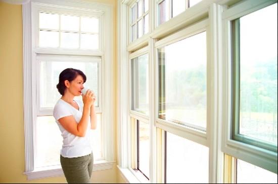 новые окна в доме