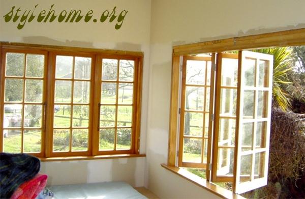 окна из дерева
