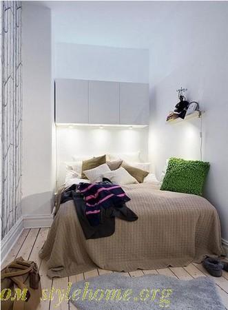 дизайнерские приемы для маленькой спальни
