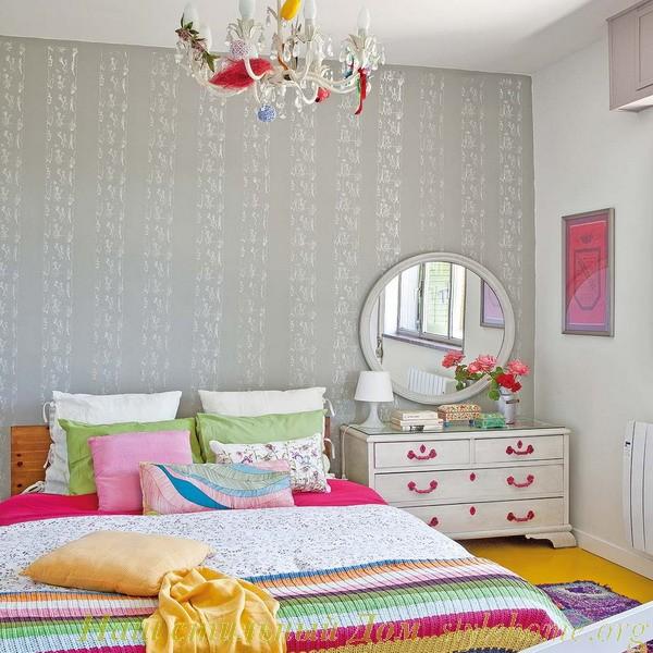 Удобная спальня для сна и релакса