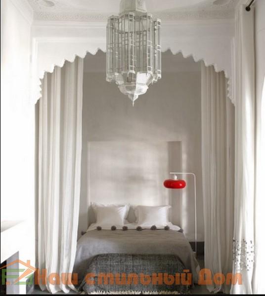 Идеи дизайна интерьера спальни в марокканском стиле