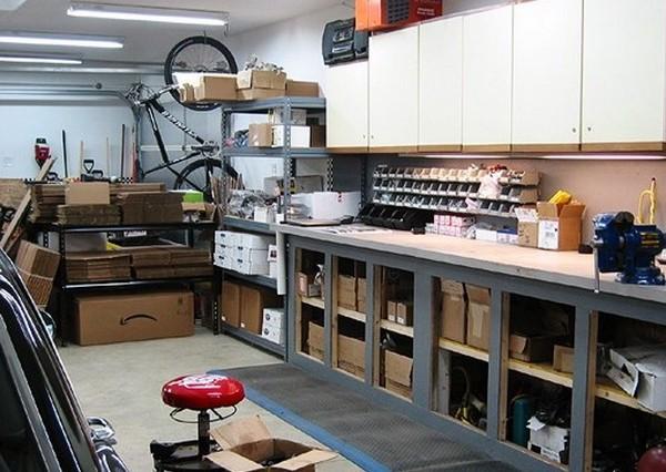обустройство гаража изнутри
