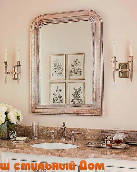 Виды столешниц для ванной