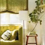 спальня в оливковом цвете