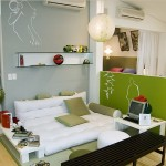 оливковая спальня
