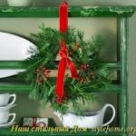 рождественские украшения и идеи для небольших помещений