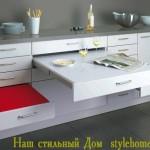 удобная мебель для кухни